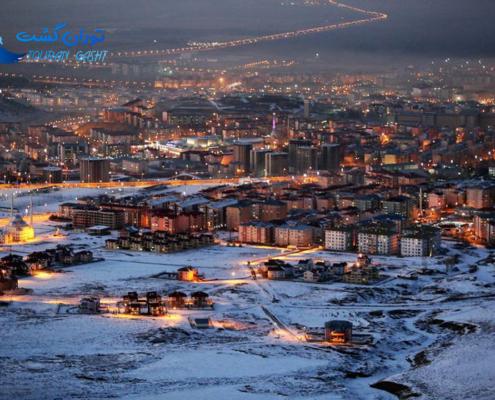 شهر ارزروم ترکیه