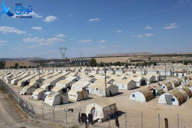 کمپ های پناهندگی ترکیه