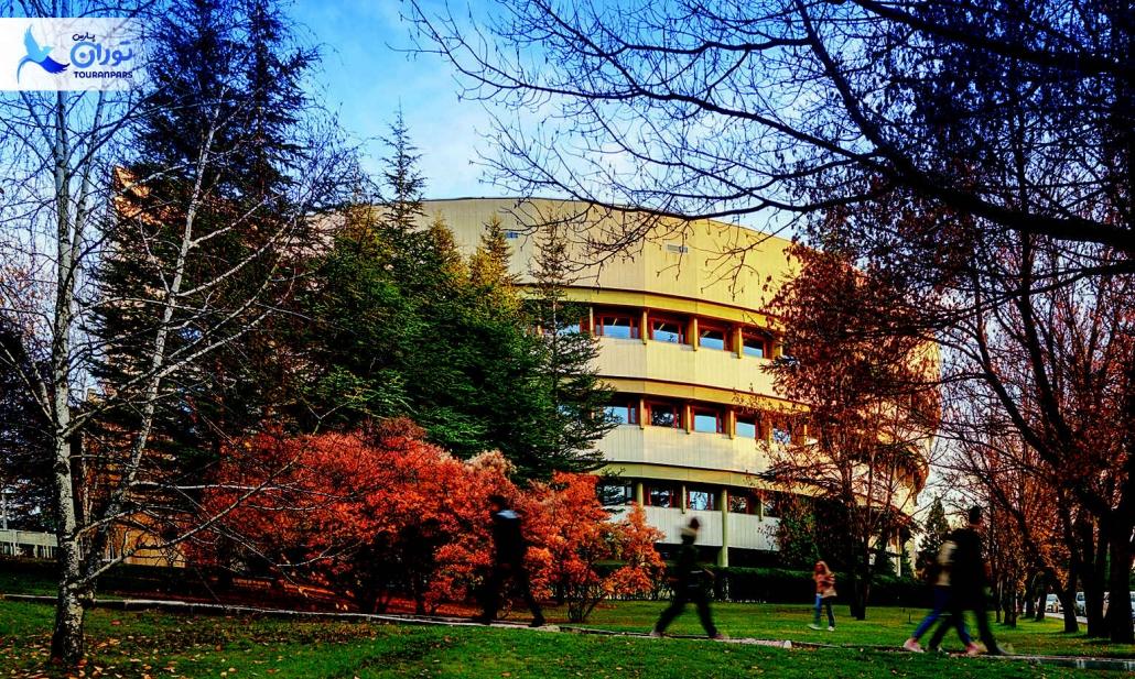لیست تمام دانشگاه های آنکارا